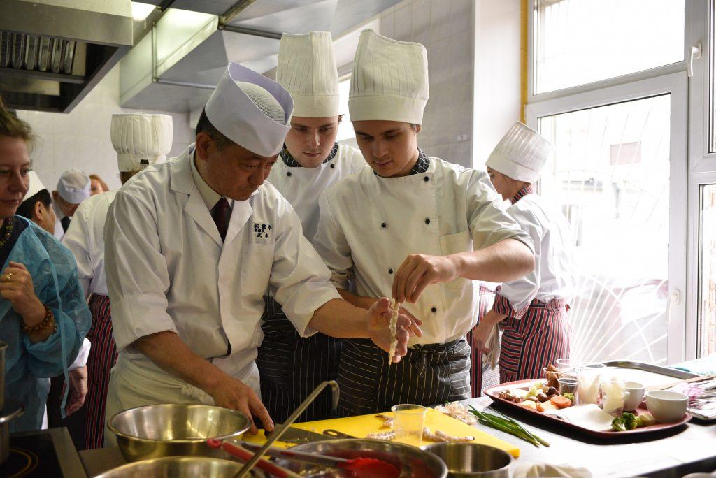 Русская кухня впечатлила японцев