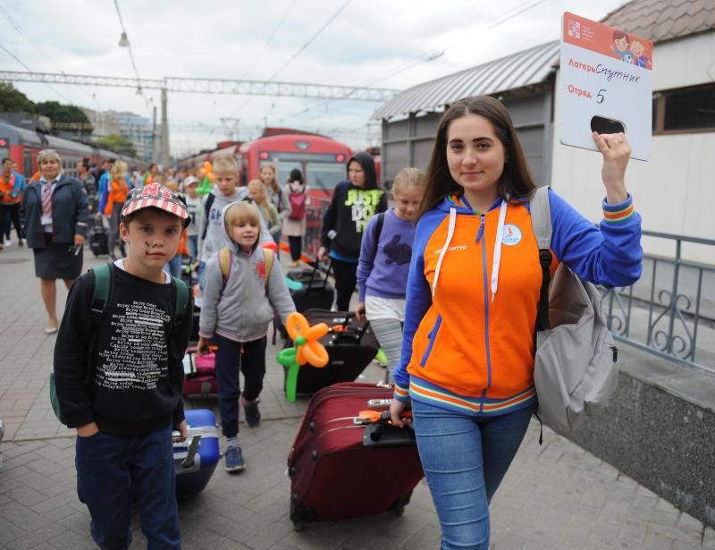 В Москве стартует прием заявлений на получение путевок для отдыха детей