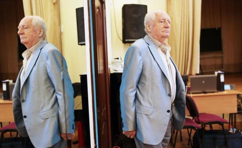 Марк Захаров отмечает 85-летие. Фото: Анна Иванцова, «Вечерняя Москва»
