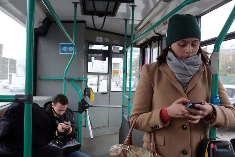 Каждый день Wi-Fi в транспорте пользуются 2,5 миллиона человек. Фото: Анна Иванцова