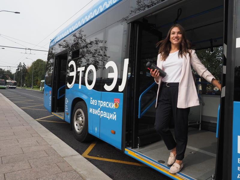 Электробусы перевезли почти 100 тысяч пассажиров за месяц
