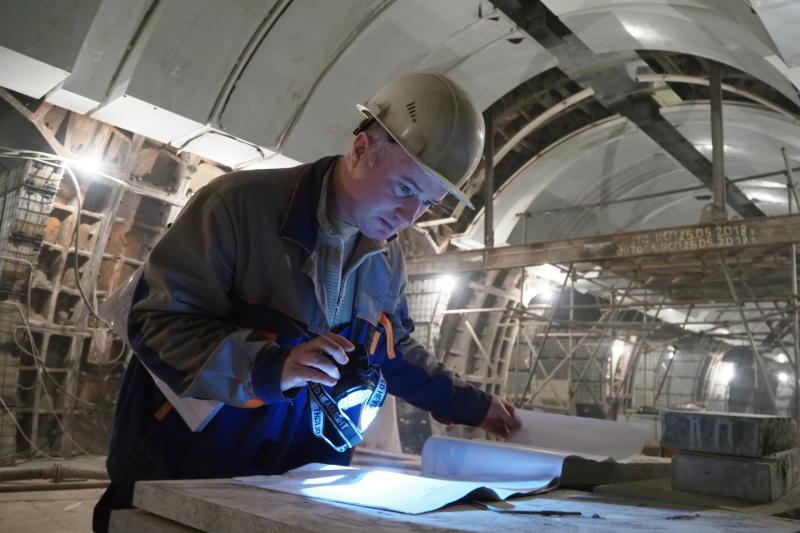 В Москве утвердили проект планировки участка БКЛ метро от станции «Проспект Вернадского» до «Давыдково»