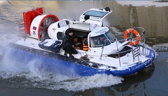 Водные спасатели столицы готовятся к зиме