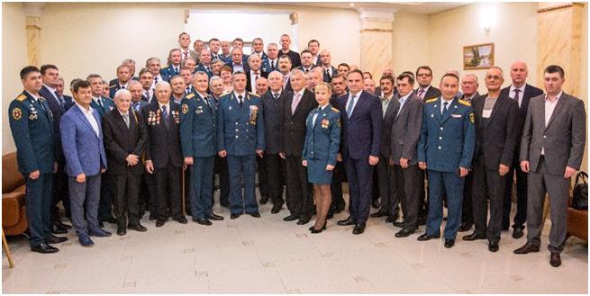 Чествование ветеранов гражданской обороны