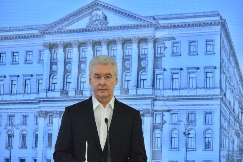 Сергей Собянин внес в Мосгордуму проект бюджета на следующий год