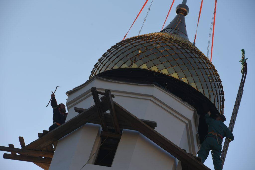 Православный храмовый комплекс построят на юго-западе Москвы