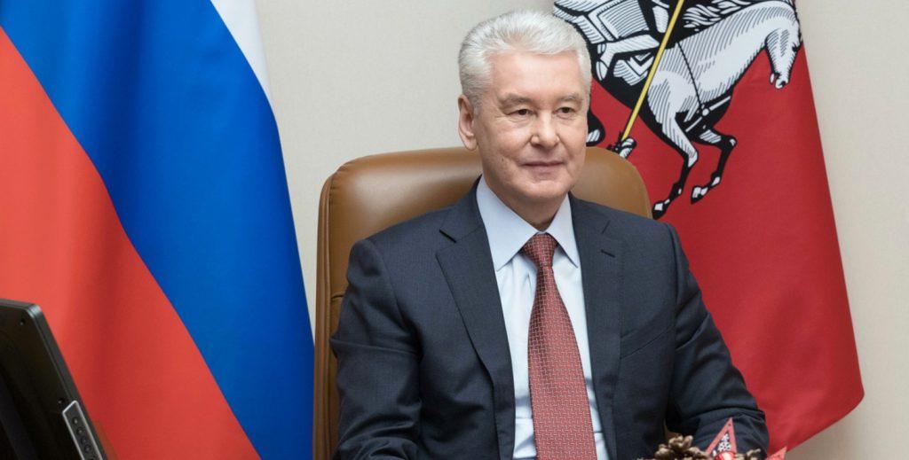 Сергей Собянин поздравил Сергея Безрукова с 45-летием