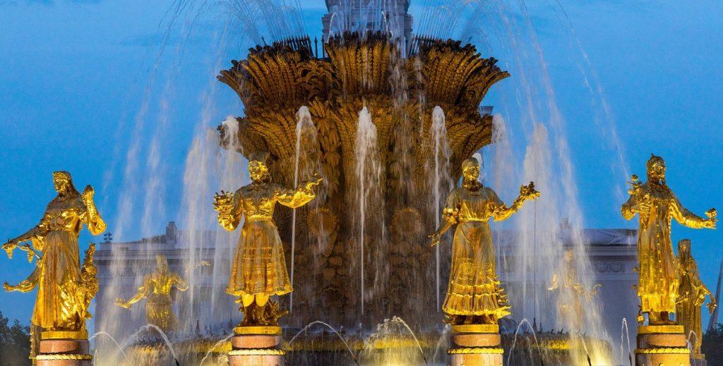 Четыре крупных фонтана Москвы ждут ремонтные работы