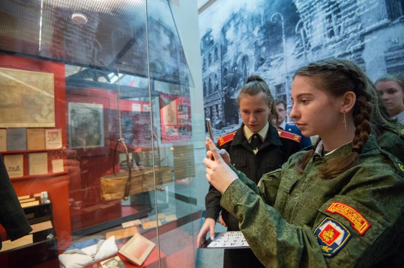 Почти 4 тыс школьников посетили Музей Победы за неделю осенних каникул