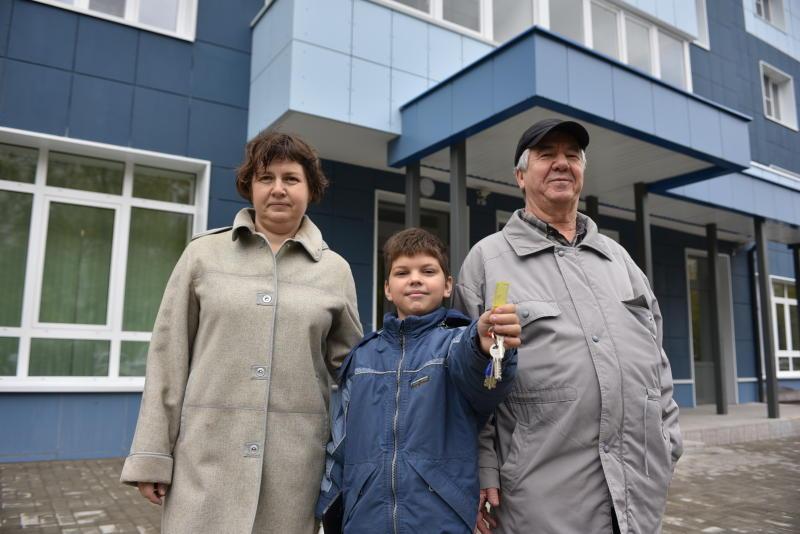 Первая семья юга переехала в новую квартиру по программе реновации. Фото: Пелагия Замятина, «Вечерняя Москва»