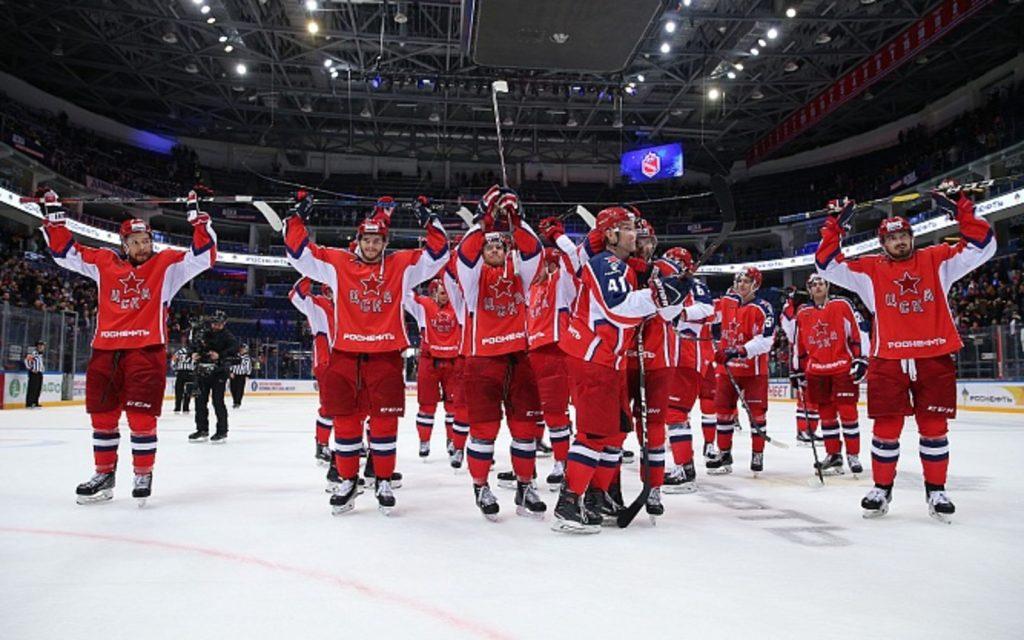 ЦСКА победил «Динамо» со счетом 5:1
