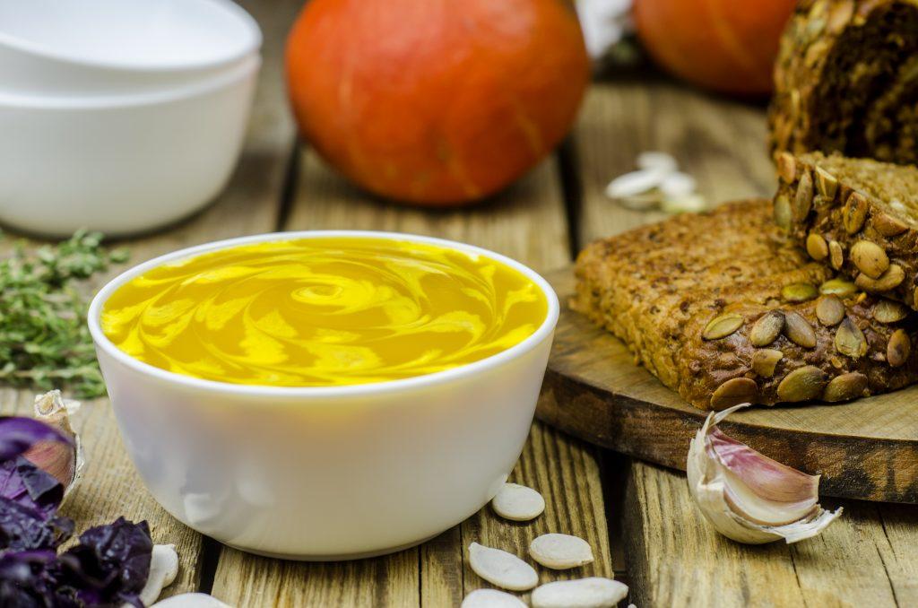 Тыквенный суп. Фото: Валентин Звегинцев