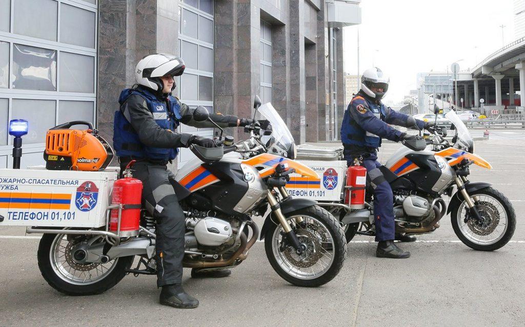 Набор в подразделения мотоциклистов-спасателей открыли в Южном округе. Фото: официальный сайт мэра Москвы