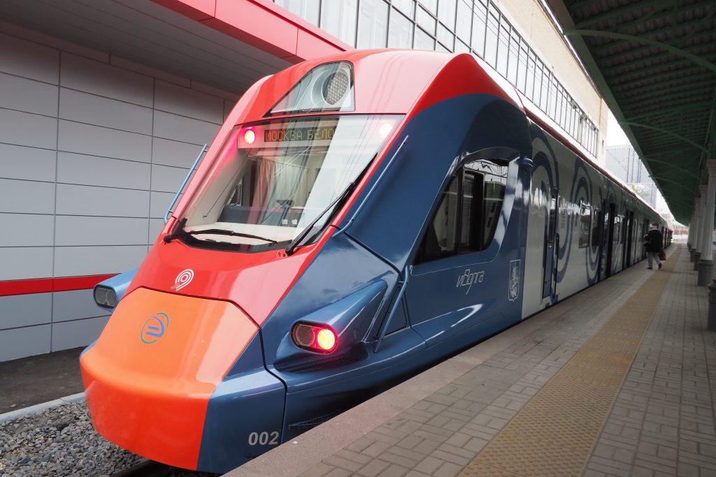 Новые поезда «Иволга» для МЦД испытали в Москве