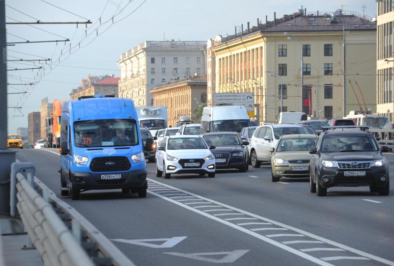 Весной на дорогах Москвы планируют запустить тесты беспилотников