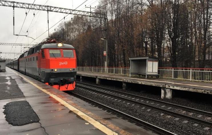 Движение электричек восстановили на Курском направлении