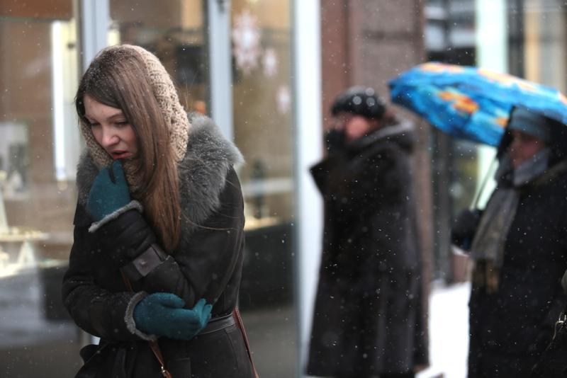Жителям столицы пора утепляться. Фото: Анна Иванцова