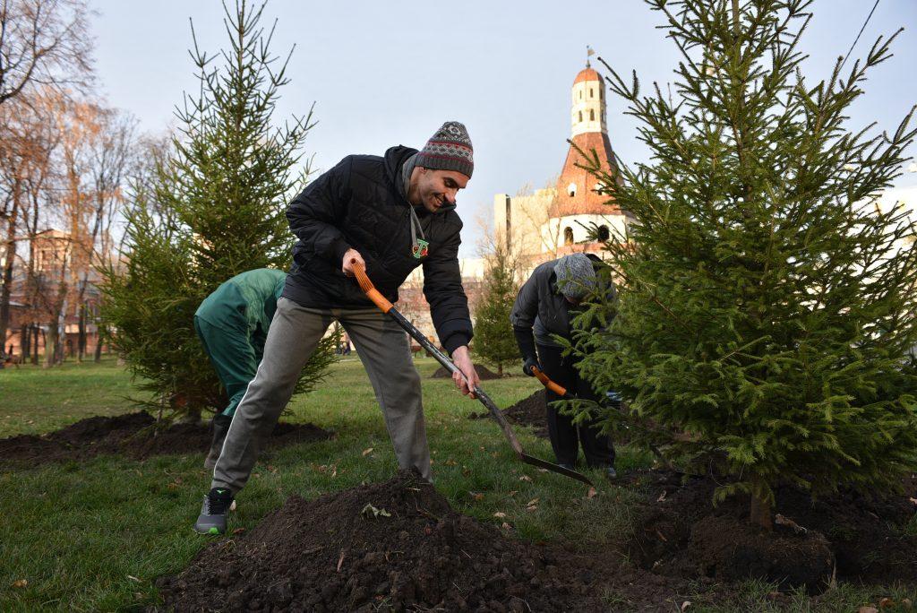 Парк «Липки» открыли после благоустройства. Фото: Пелагия Замятина, «Вечерняя Москва»