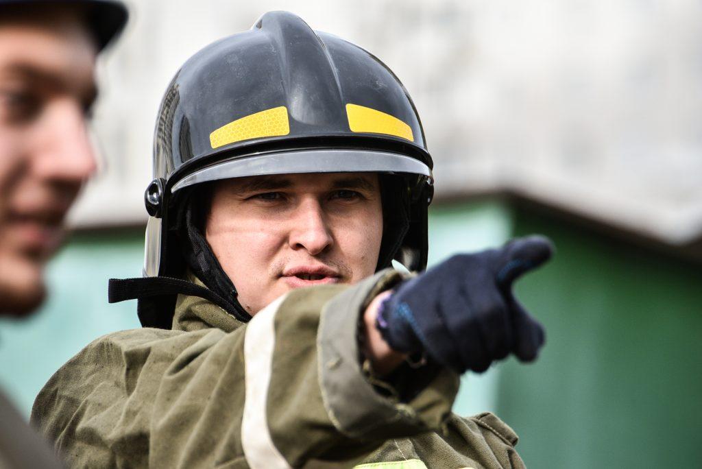 Пожарные ликвидировали возгорание в Капотне