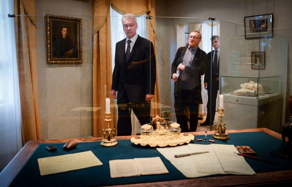 Путин и Собянин открыли дом-музей Тургенева после реставрации.Фото: архив, «Вечерняя Москва»
