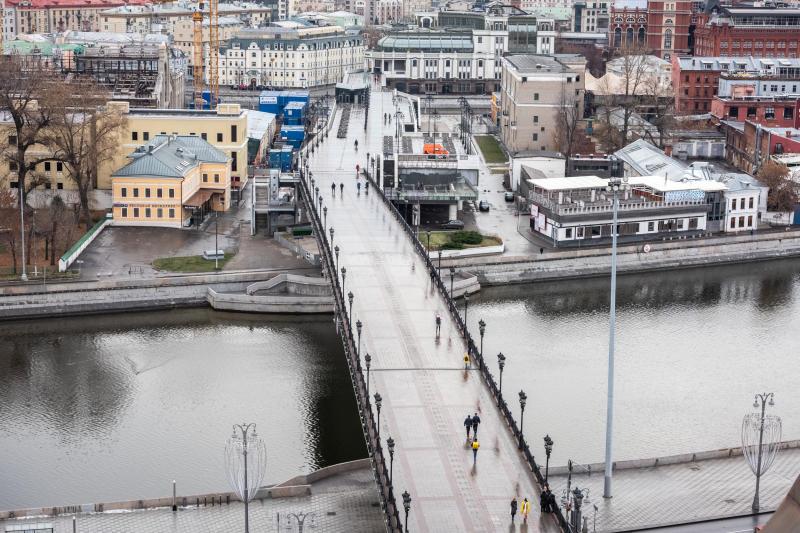 В Москве установили новый температурный рекорд