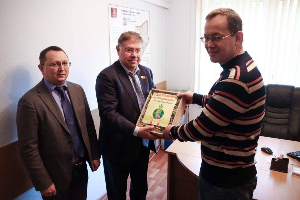 Депутат Московской городской Думы поучаствовал в экологическом проекте «Зеленый город»