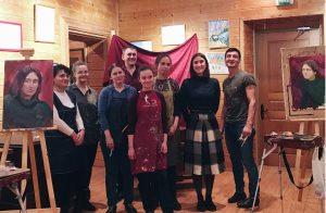 Фото на память о «Ночи искусств — 2018». Фото: Юлия Панова