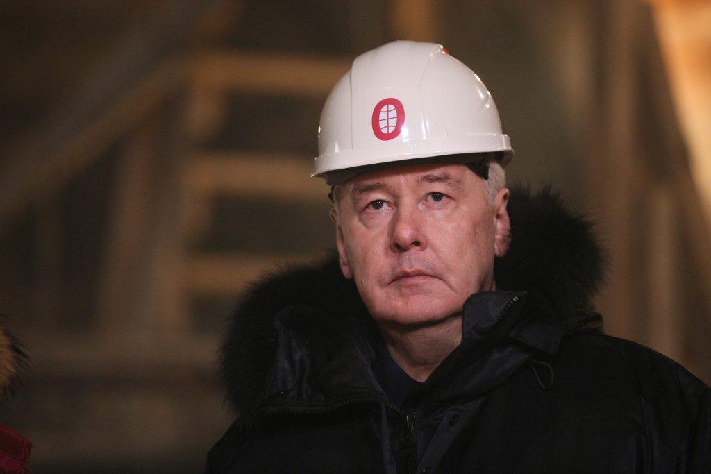 Сергей Собянин пообещал достроить станцию метро «Беломорская» за два месяца