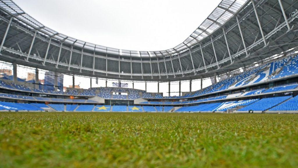 Реконструкция московского стадиона «Динамо» завершена