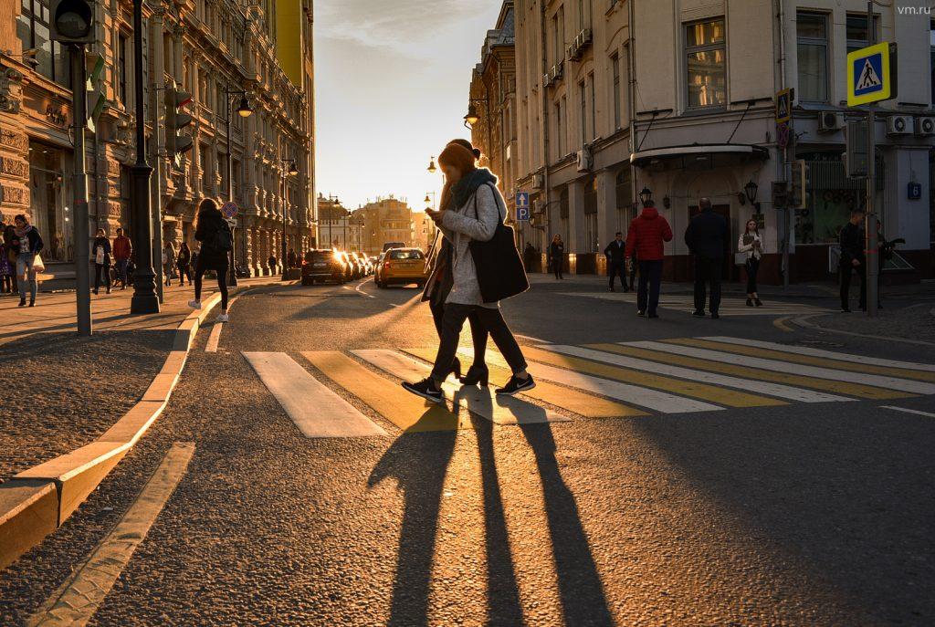 Видеокамеры установят на пешеходных переходах в 2019 году.Фото: архив, «Вечерняя Москва»