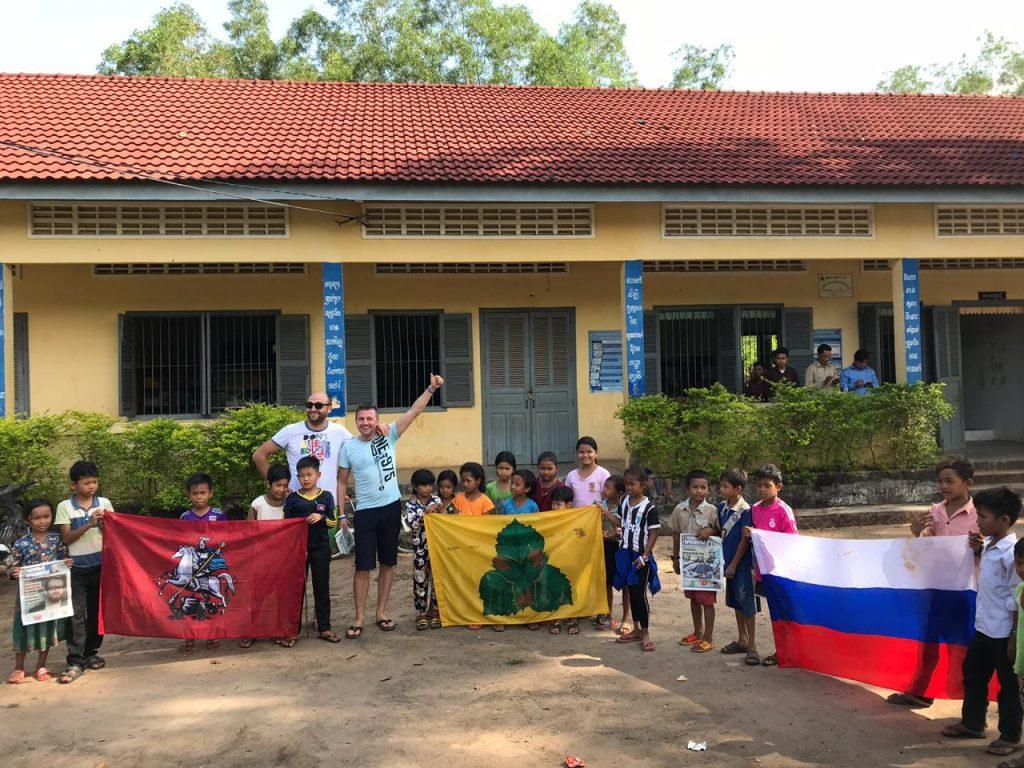 Профессиональные мотогонщики привезли «Южные Горизонты» в Камбоджу