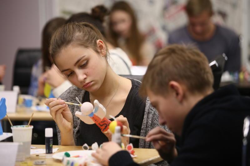 Юных жителей Южного округа пригласили на мастер-классы в Дом культуры «Нагатино». Фото: архив, «Вечерняя Москва»