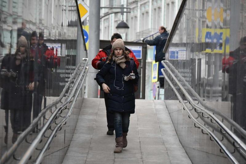 Пешеходный тоннель на проспекте Андропова отремонтировали