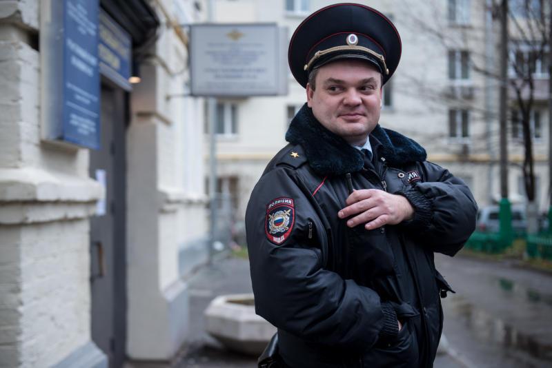 14 ноября полицейские юга столицы проведут единый день приема населения. Фото: архив, «Вечерняя Москва»