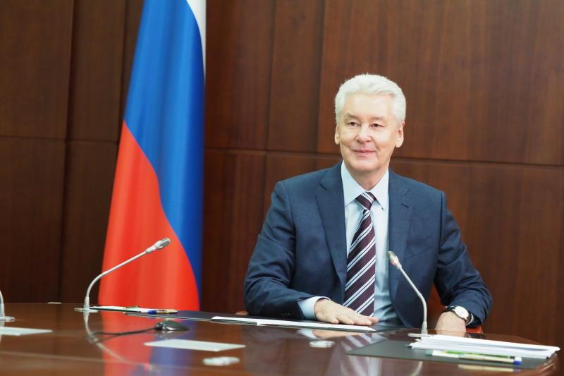 Собянин открыл движение по новой развязке на севере Москвы