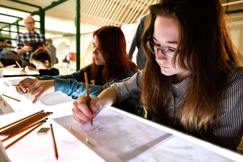 Загадочную ундину нарисуют посетители Дома культуры «Нагатино»