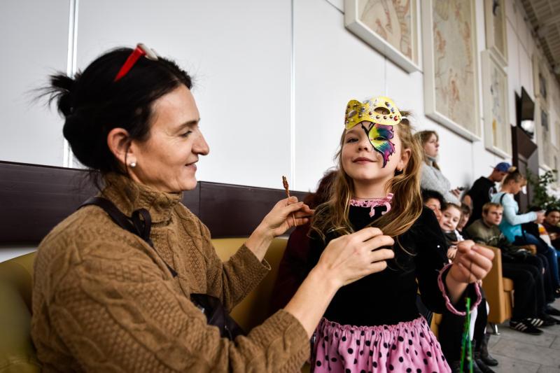 Благотворительный вечер «Моя любимая мама» соберет в Культурном центре «Москворечье» более 300 семей. Фото: Ирина Хлебникова, «Вечерняя Москва»