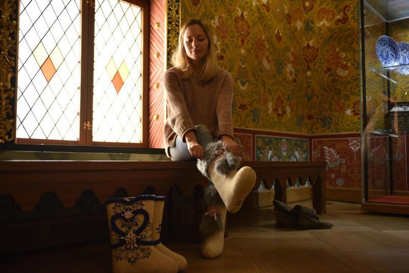 Царские и альпинистские: в Коломенском открыли выставку валенок