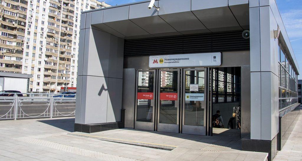 Более пяти миллионов человек воспользовались новыми станциями Солнцевской линии метро