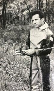 Владислав Геннадьевич Трофимов во время одного из походов. Фото из личного архива