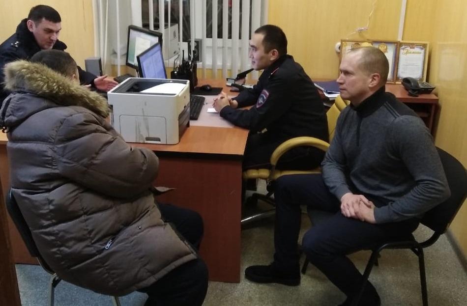 12 декабря состоялся прием населения на участковом пункте полиции Даниловского района