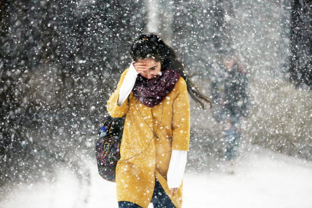 Температура начала снижаться. Фото: Анна Иванцова