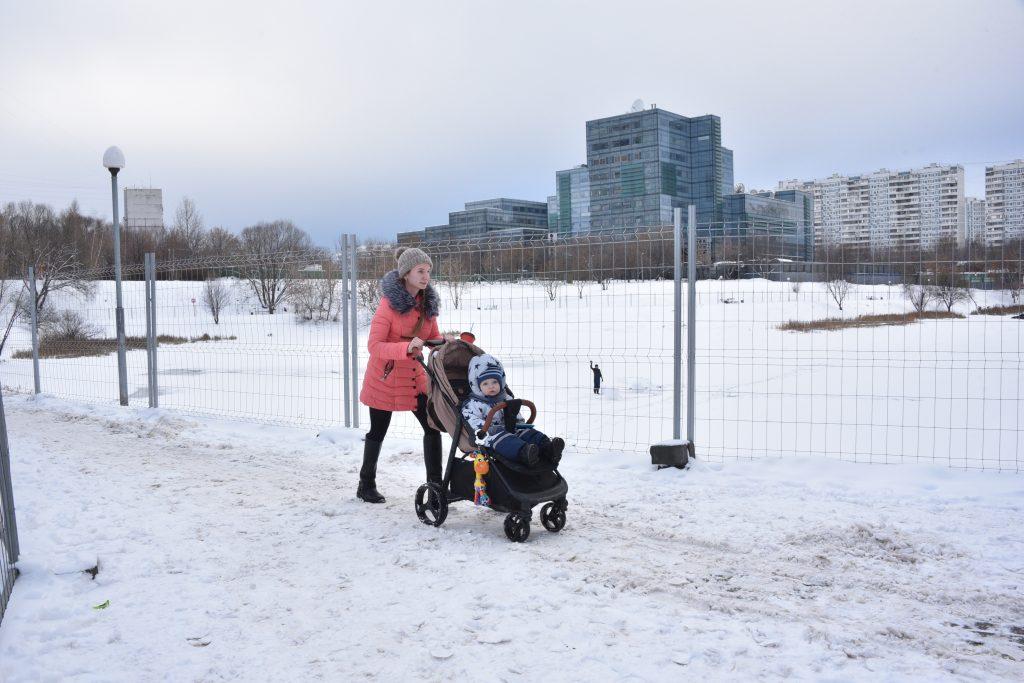Чистые пруды на Варшавке