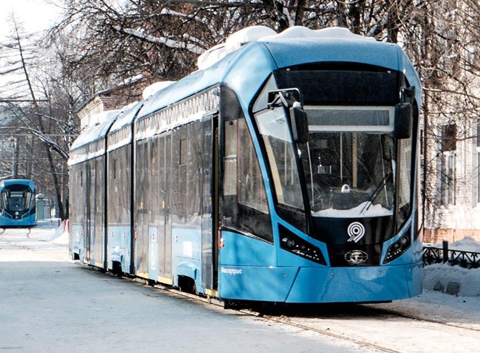 Трамвайные пути на юге отремонтировали