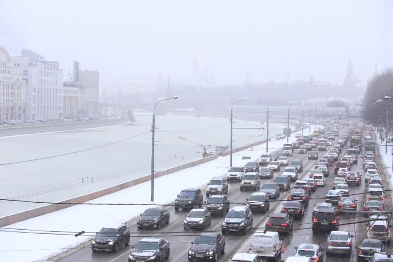 Нагрузка на дороги возрастет на три-пять процентов. Фото: Антон Гердо, «Вечерняя Москва»