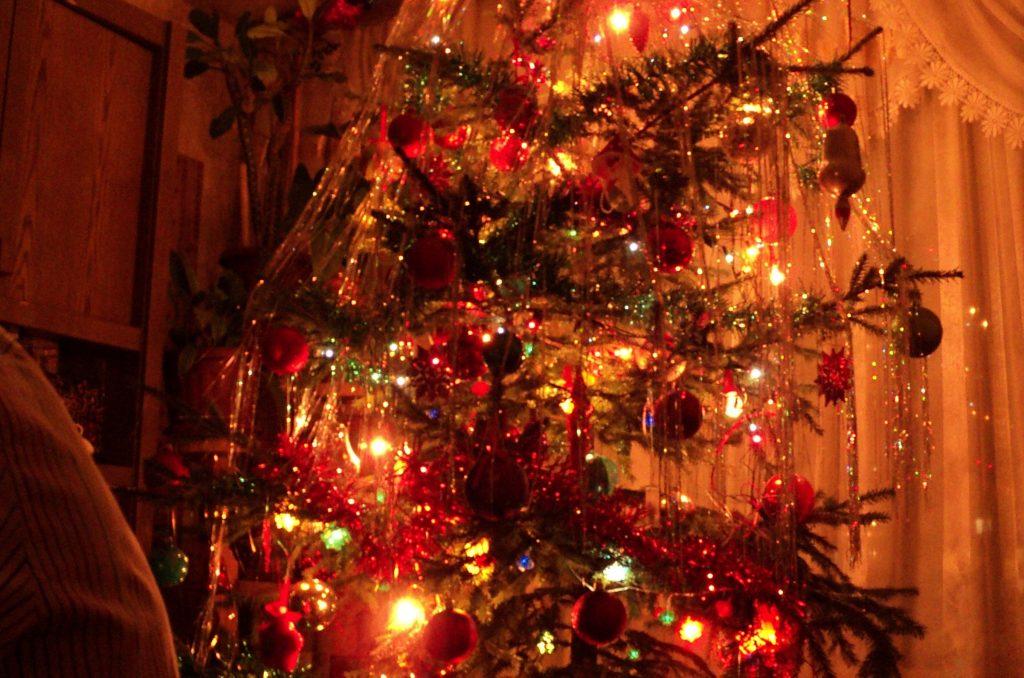Новый год пахнет живой елкой