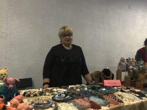 Участница ярмарки-выставки. Фото: Любовь Тимошкина