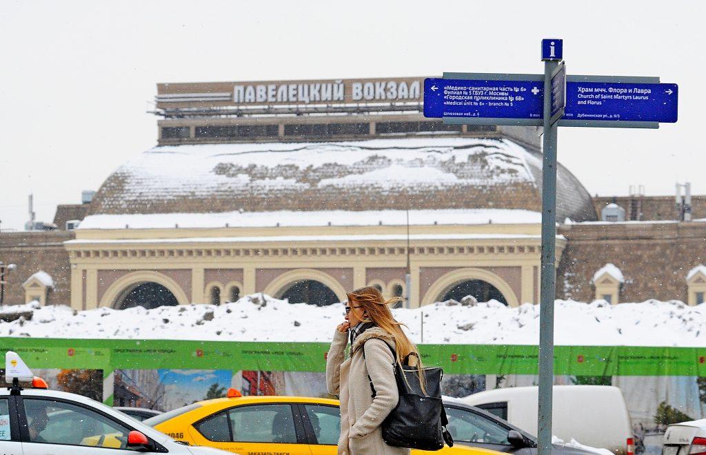 Около 200 километров Московской железной дороги очистили от снега за ночь