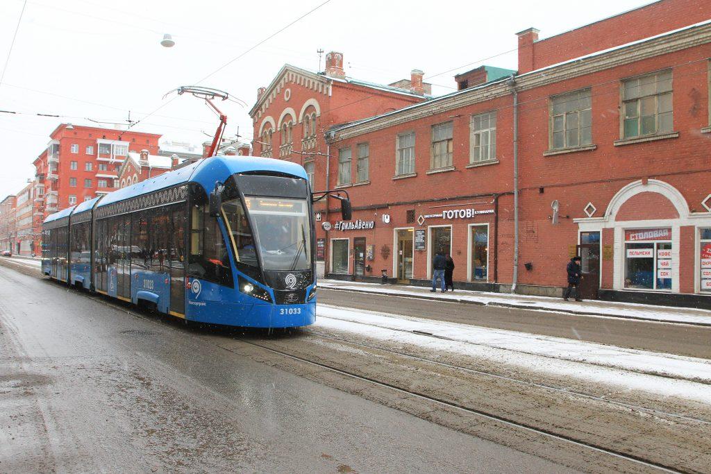 Более 220 километров трамвайных рельсов отремонтировали в Москве