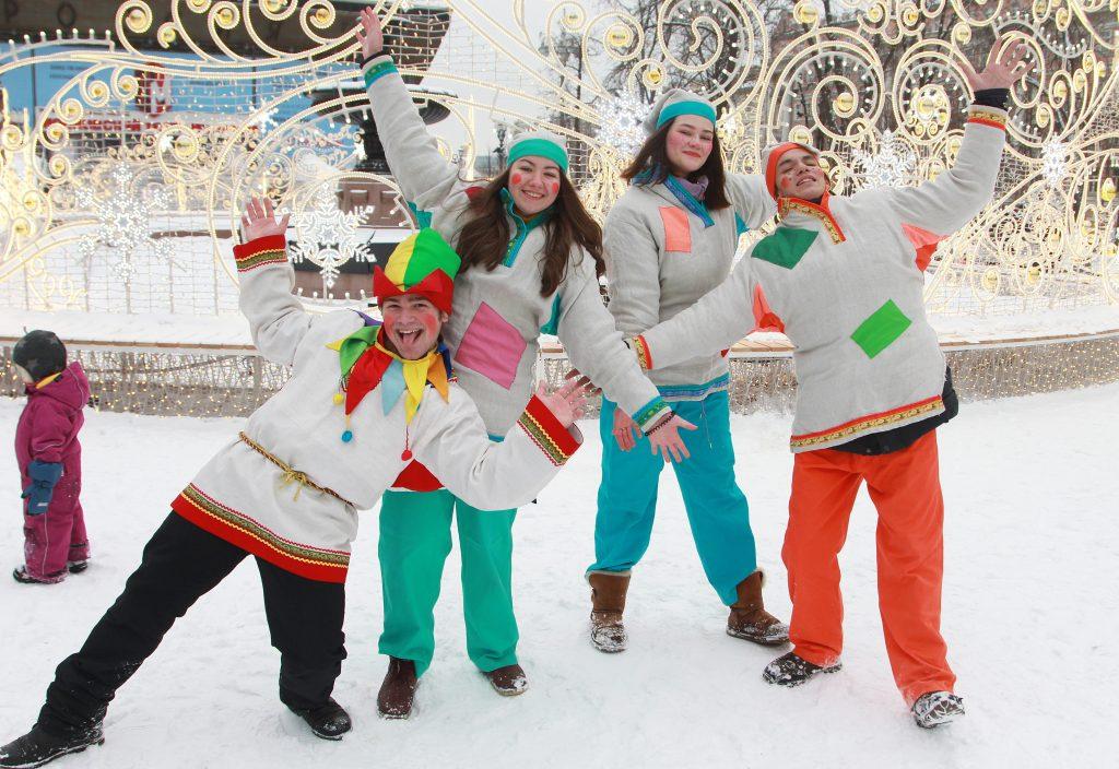 Москвичам напомнили о десятидневных новогодних каникулах